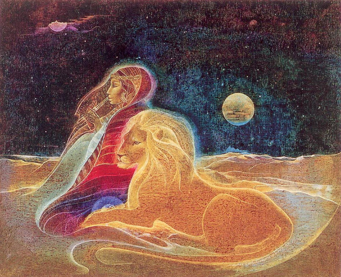 Illustration by Susan Seddon Boulet